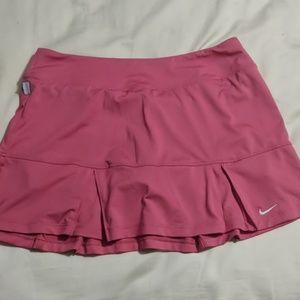 Pink Nike Tennis Skort